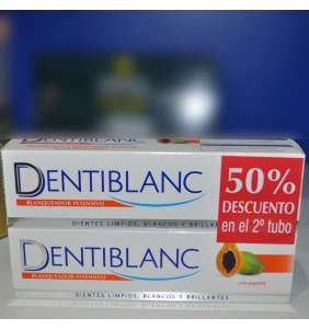 dentiblanc pasta dental intnsivo (papaina) 100ml