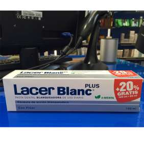 Lacer blanc pasta dental menta 150 ml (regalo 20%)