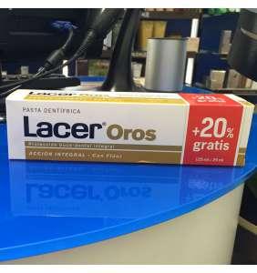 Lacer oros pasta 125 ml + 20% gratis
